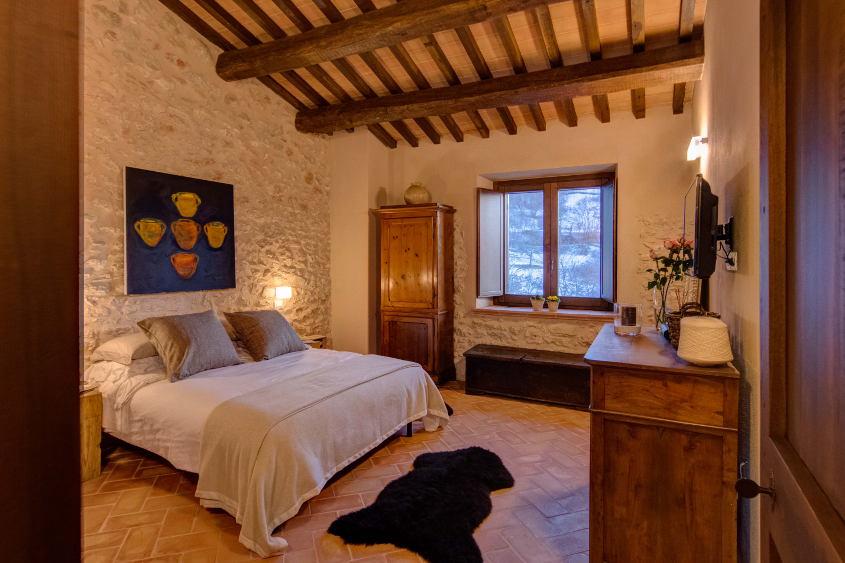 The bedroom Black Truffle Lodge
