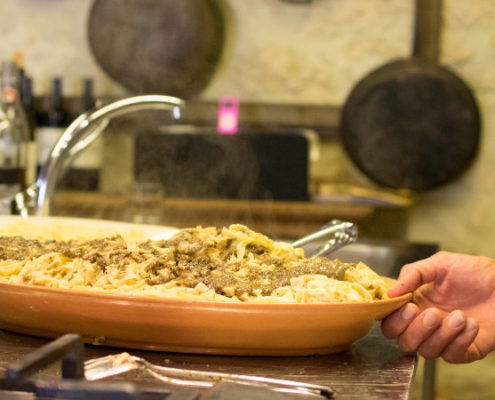 Traditional Umbrian Mountain Fare